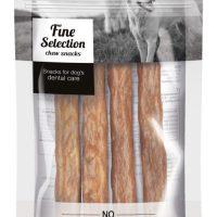 GimDog – FINE SELECTION – Солети за дъвчене от сурова говежда кожа + пиле, 30 г
