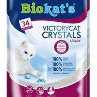 Котешка тоалетна силикагел 2.5кг – Biokat's VictoryCat Crystals Classic