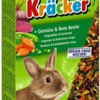 Храна за декоративни мини зайчета – Vitakraft – Крекер зеленчуци и цвекло 2бр