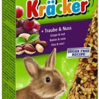 Храна за декоративни мини зайчета – Vitakraft – Крекер грозде и ядки 2бр