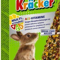 "КРЕКЕР ""МУЛТИВИТАМИН""  ЗА ЗАЙЧЕ-2 БР. Многокомпонентна храна за декоративни зайци. Рецепта без захар!"