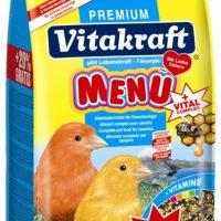 Храна с мед за канарчета Premium Menu 1кг + 20% гратис