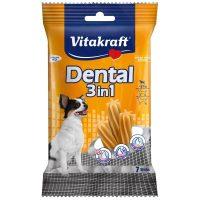 Устна хигиена за кучета < 5кг – Vitakraft Dental 3in1 ExtraSmall 7бр