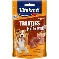 Лакомства за кучета – Vitakraft TREATIES BITS – сочни хапки с лебервурст