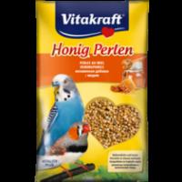 Витамини за вълнисти папагали – Vitakraft Perlen – Витаминозни перли с мед 20г