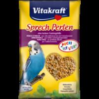 Витамини за вълнисти папагали Vitakraft Perlen – 20г Витаминозни перли за говор