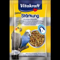 Витамини за папагали Vitakraft Perlen – 30г Витаминозни перли за укрепване с биотин