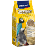 Пясък за големи папагали – 2.5кг Vitakraft Sandy