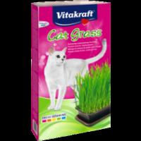 КОТЕШКА ТРЕВА Готова смес от висококачествени семена, с витамини. – Vitakraft Cat Grass