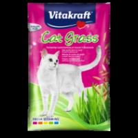 СЕМЕНЦА ЗА ПОСАЖДАНЕ НА КОТЕШКА ТРЕВА Висококачествена смес от семена за засаждане, за да доставим на котката необходимите   витамини и минерали.