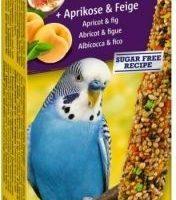 Храна за вълнисти папагали Vitakraft – 2бр Крекер кайсия и смокиня