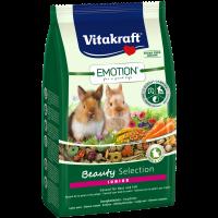 Храна за млади декоративни мини зайчета 600г – Vitakraft Emotion Beauty Selection Junior
