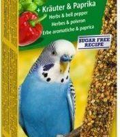 Храна за вълнисти папагали Vitakraft – 2бр Крекер билки и чушки