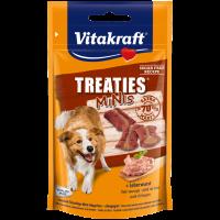 Лакомства за кучета – Vitakraft TREATIES MINIS – сочни хапки с лебервурст