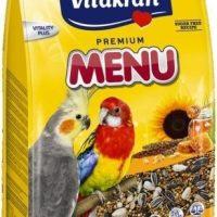 Храна за средни папагали – 1кг Vitakraft Premium Menu