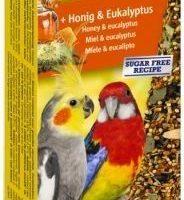 Храна за средни папагали Vitakraft – 2бр Крекер с мед и евкалипт