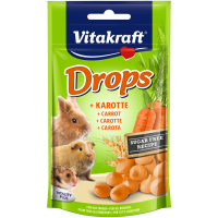 Лакомства за гризачи – бонбони с моркови – 75г Vitakraft Carrot Drops