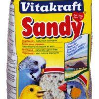 2.5кг Пясък за птици 3+ високоминерализиран, трикомпонентен – Vitakraft Sandy
