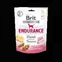 Brit Care Dog Functional Snack Endurance Lamb – лакомство за издръжливост с агнешко и банан – 150гр