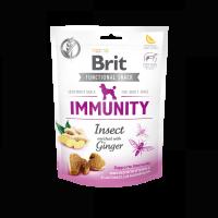 Brit Care Dog Functional Snack Immunity Insect – лакомство за имунитет с джинджифил 150гр.