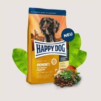 Храна за кучета Happy Dog Supreme Sensible Piemont-с патешко, морска риба и благороден кестен – 1 кг