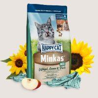 Храна за котки Happy Cat Minkas Mix с риба и пиле- 10 кг