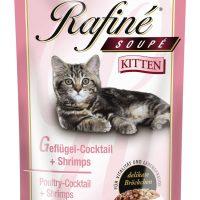 Пауч за малки котенца Rafine, Animonda Германия, пуйка + сърца + моркови, 100 гр
