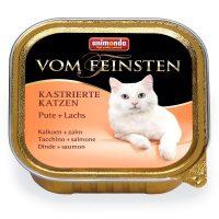 Von Feinsten Castrated за кастрирани котки с пуйка, 100 гр