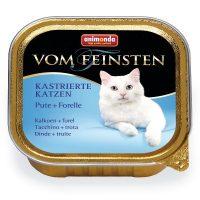 Von Feinsten Castrated за кастрирани котки с пуйка + пъстърва, 100 гр