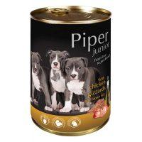 Piper Junior премиум консервирана храна за малки кученца,  воденички/кафяв ориз-400 гр