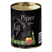Piper премиум консервирана храна за кучета- дивеч/тиква- 800 гр