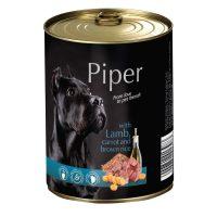 Piper премиум консервирана храна за кучета – агне/морков/кафяв ориз- 400 гр