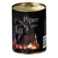 Piper премиум консервирана храна за кучета – телешки дроб/картофи- 400 гр