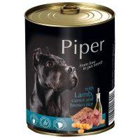 Piper премиум консервирана храна за кучета, агне/морков/кафяв ориз – 800 гр