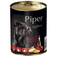 Piper премиум консервирана храна за кучета,  телешки дроб/картофи – 800 гр