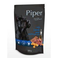 Piper пауч – премиум консервирана храна за кучета –  агне/морков/каф.ориз-  500 гр