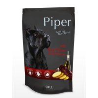 Piper пауч – премиум консервирана храна за кучета – телешки дроб/картофи – 500 гр