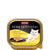 Пастет за котки Von Feinsten 2 в 1 от Animonda, Германия, пуйка + говеждо с моркови – 100 гр