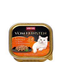 Пастет за котки Von Feinsten Grain Free от Animonda, Германия, пиле + сос моркови, 100 гр