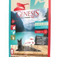 Genesis Pure Canada My Blue Lake Hair&Skin за красива козина и здрава кожа, израснали котки  – 2,27 кг