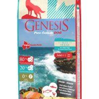 Храна за кучета Genesis Pure Canada Blue Ocean Skin&Coat за красива козина – 11,79 кг