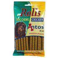 Меки солети Rolls от Antos  с пиле, 200гр/20бр, Холандия, 200гр, 20бр