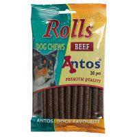 Меки солети Rolls от Antos  с говеждо, 200гр/20бр, Холандия, 200гр, 20бр