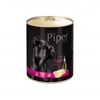 Piper премиум консервирана храна за кучета,  Телешко шкембе – 800 гр