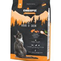 Храна за котка Chicopee Holistic Nature Line Hair&Skin за израснали породисти котки – красива козина – 8 кг
