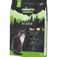 Храна за котка Chicopee Holistic Nature Line No Grain за чувствителни и над 7 години- птиче и черен дроб – 8 кг