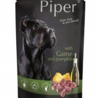 Piper пауч – премиум консервирана храна за кучета –  дивеч/тиква- 150 гр