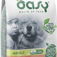 Храна за кучета Oasy Salmon Monoprotein Adult със сьомга за всички породи над 12 месеца – 12 кг