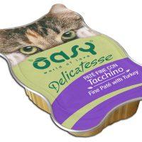 Пастет Oasy Cat с пуйка – 85 гр