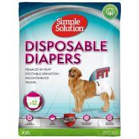 Памперс за женски кучета Simple Solution, XXL 12бр